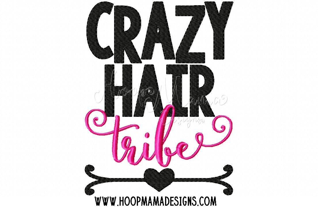 Get Crazy Hair Tribe DXF