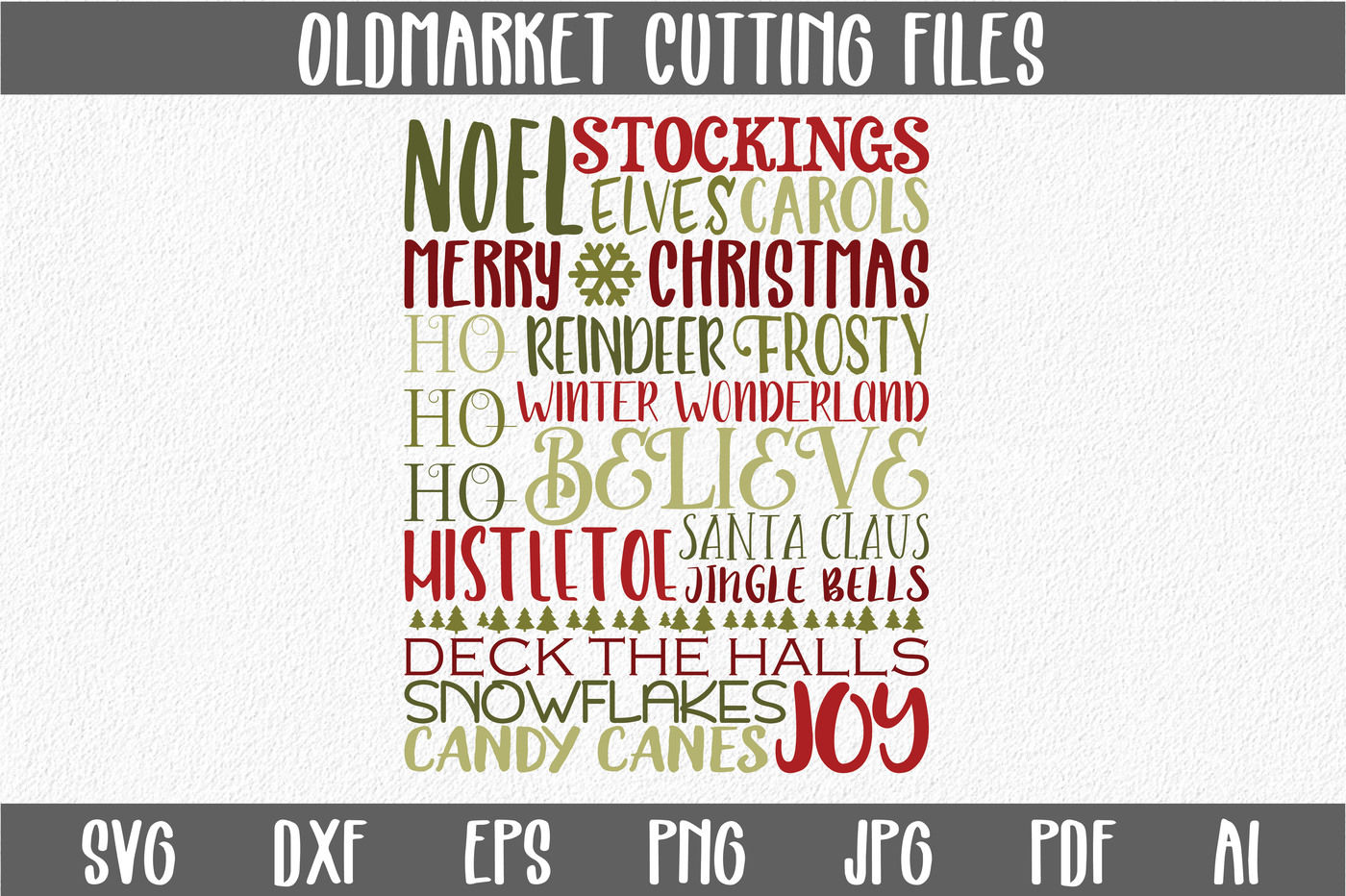 Christmas Subway Art Svg.Christmas Subway Art Svg Cut File Christmas Svg Dxf
