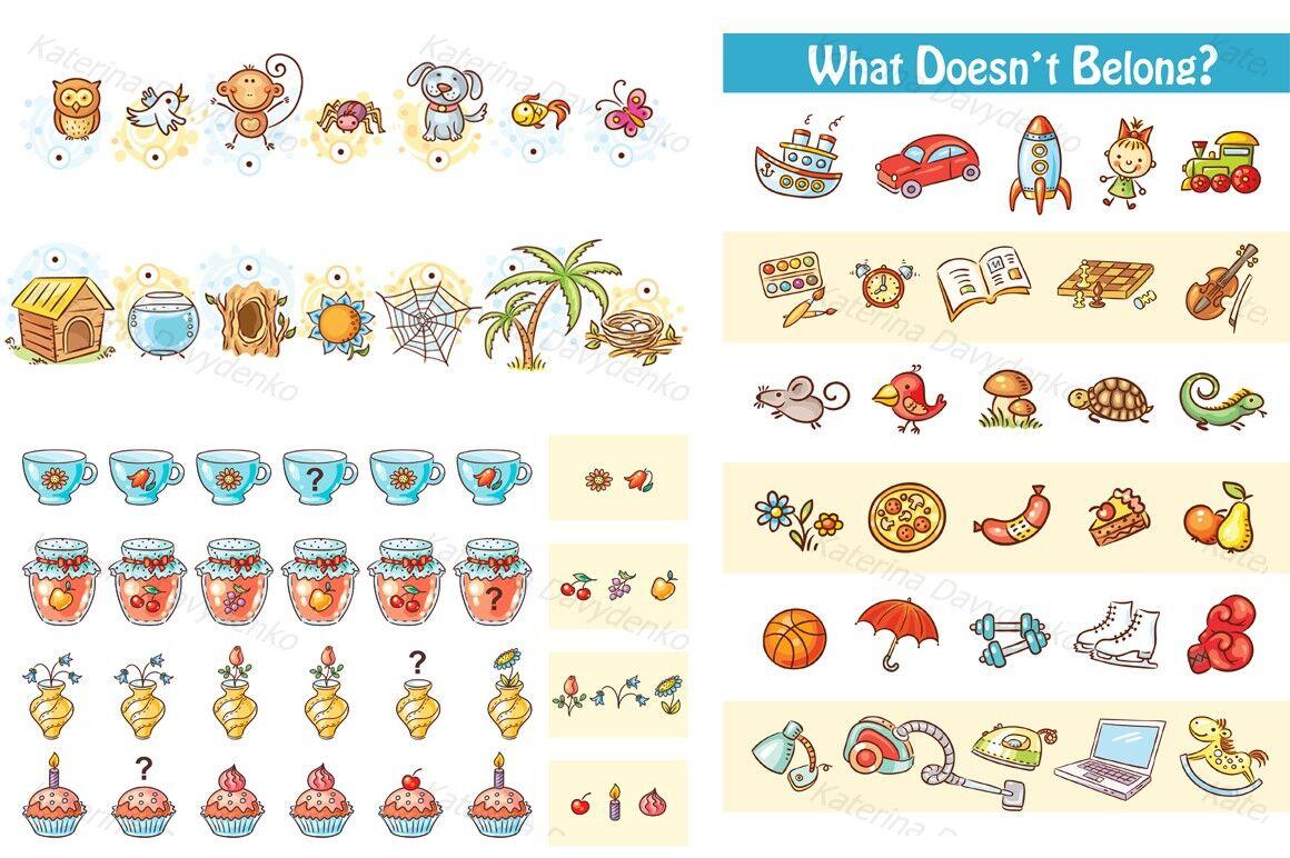 Learning Activities Bundle By Optimistic Kids Art Thehungryjpeg Com