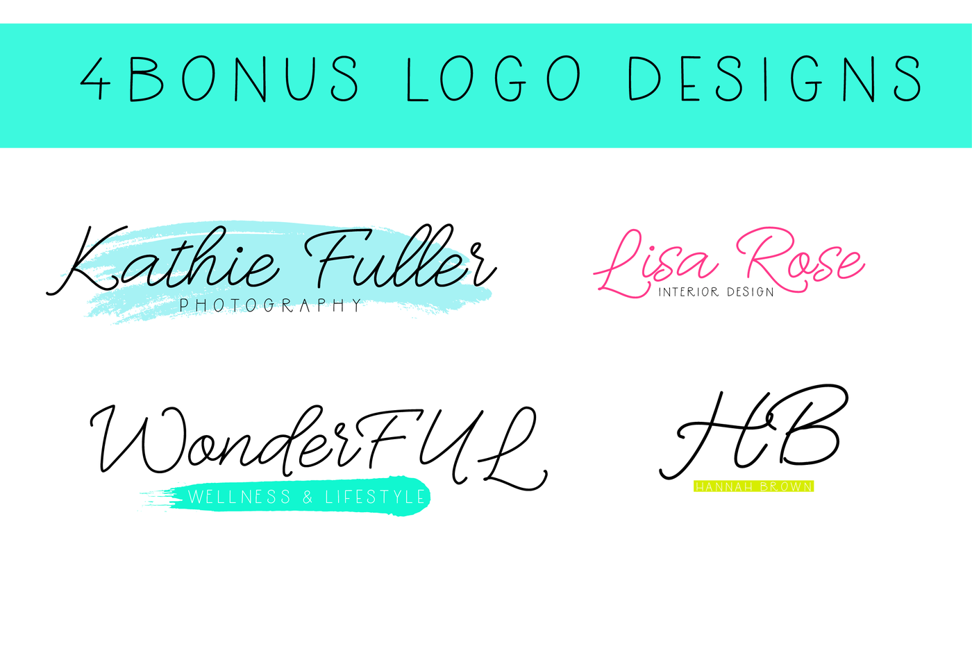 Download Handwritten Font Bundle By The Ink Affair | TheHungryJPEG.com