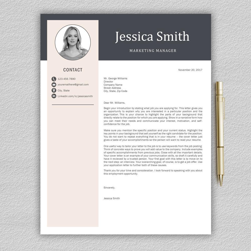 resume template    cv template    professional resume