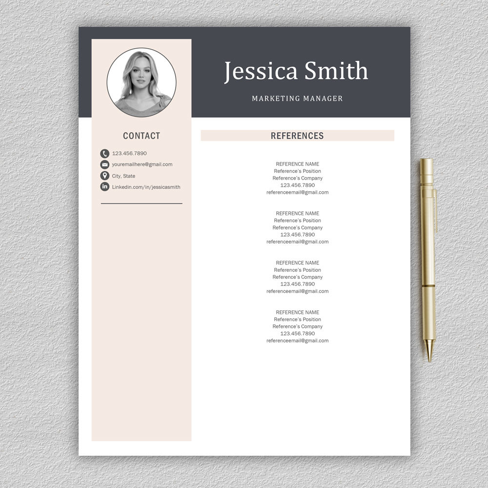 resume template    cv template    professional resume    modern cv    lebenslauf by prographicdesign