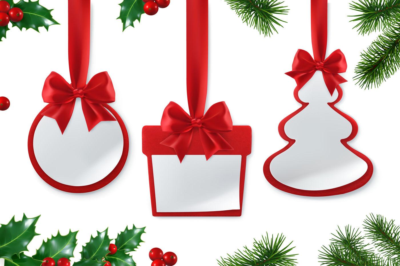 Christmas Decorations 3d Vector Set By Allevinatis Studio