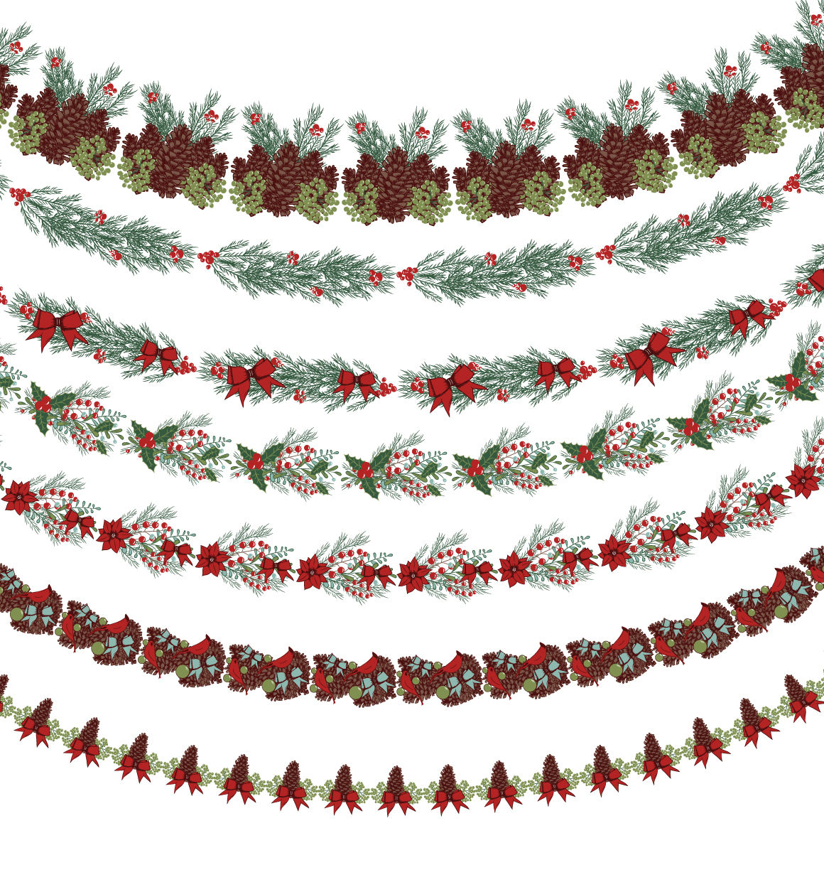 Christmas Wreath Generator By Mm Studio Design Thehungryjpeg Com