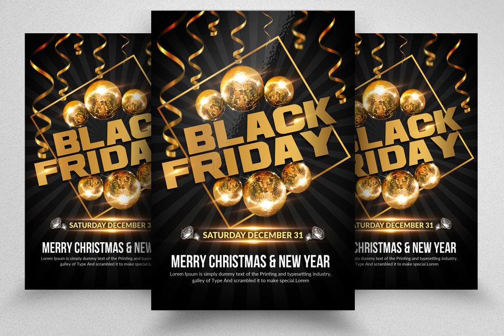 Black Friday Sale Offer Sale Flyers By Designhub Thehungryjpeg Com