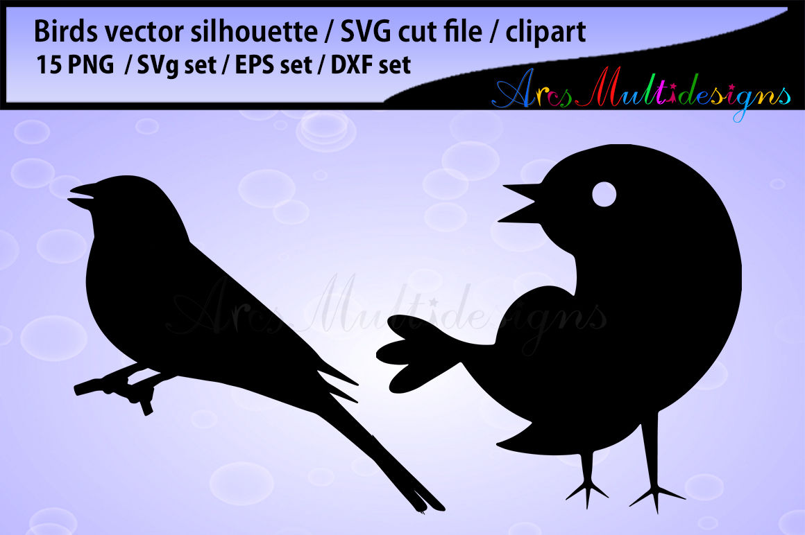picture about Bird Silhouette Printable referred to as adorable birds svg silhouette / chook silhouette SVG / lovely chook