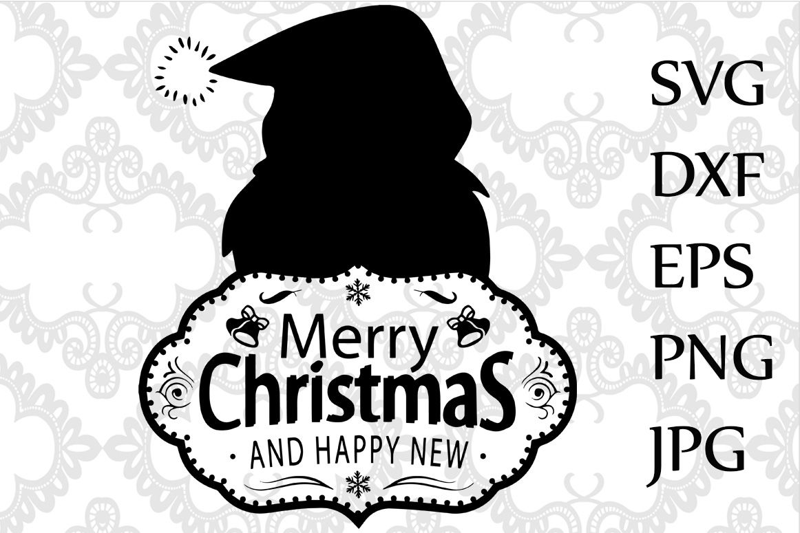 Merry Christmas Svg By Chilipapers Thehungryjpeg Com