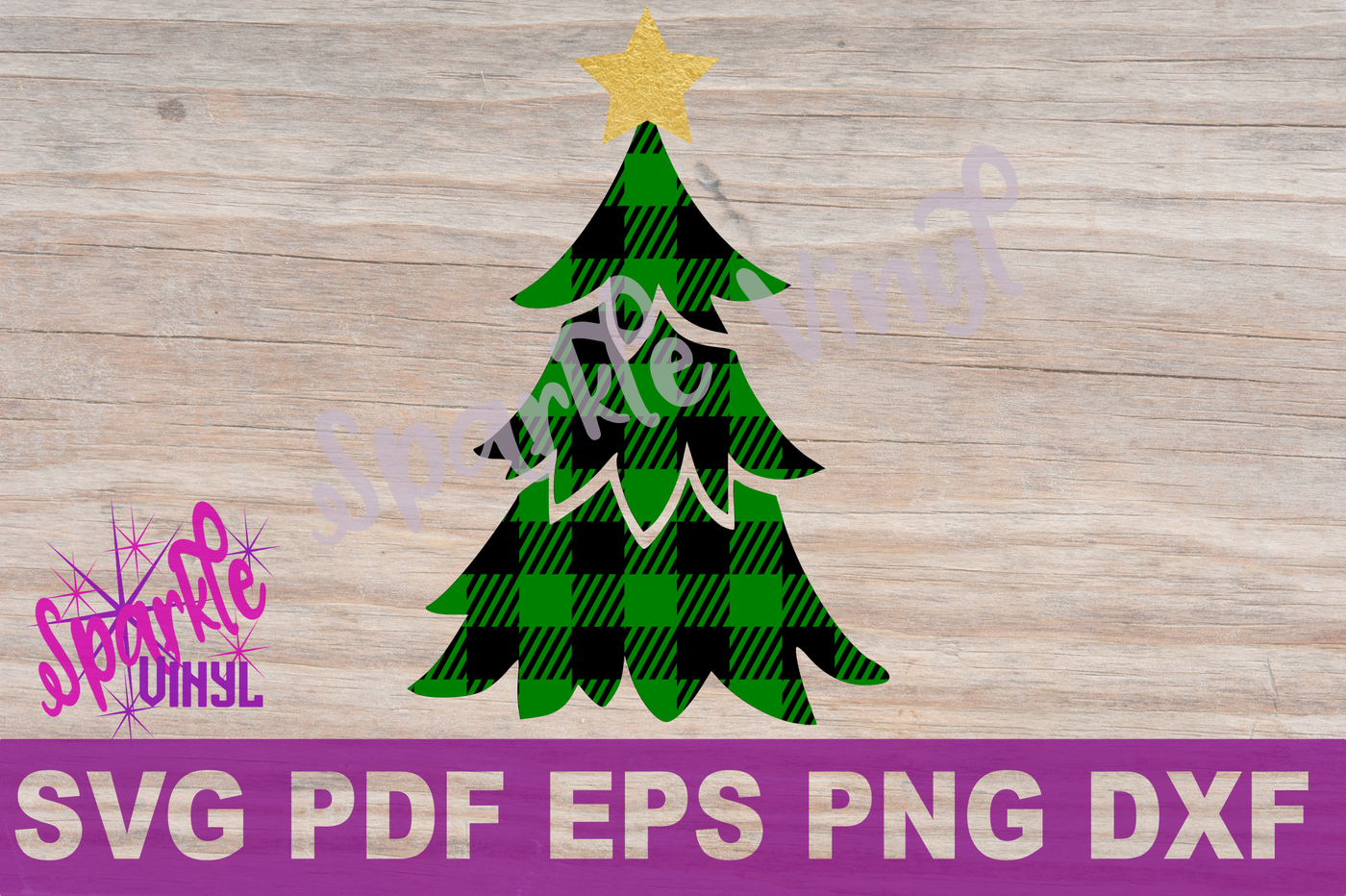 Svg Buffalo Plaid Christmas Tree With Star Shirt Sign Stencil Printable Svg Files For Cricut And Silhouette Png Pdf Dxf Eps Christmas Design By Sparkle Vinyl Designs Thehungryjpeg Com