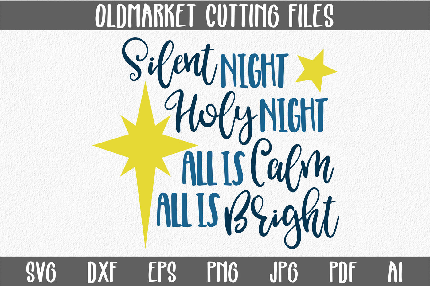 43+ Silent Night – Yeah Right – Svg/Dxf/Png SVG