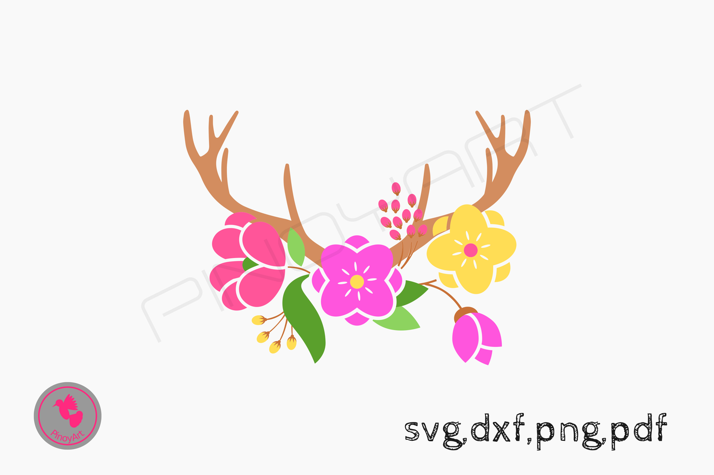 Antler Svg Deer Svg Antler Svg Svg Dxf Svg For Cricut Svg For