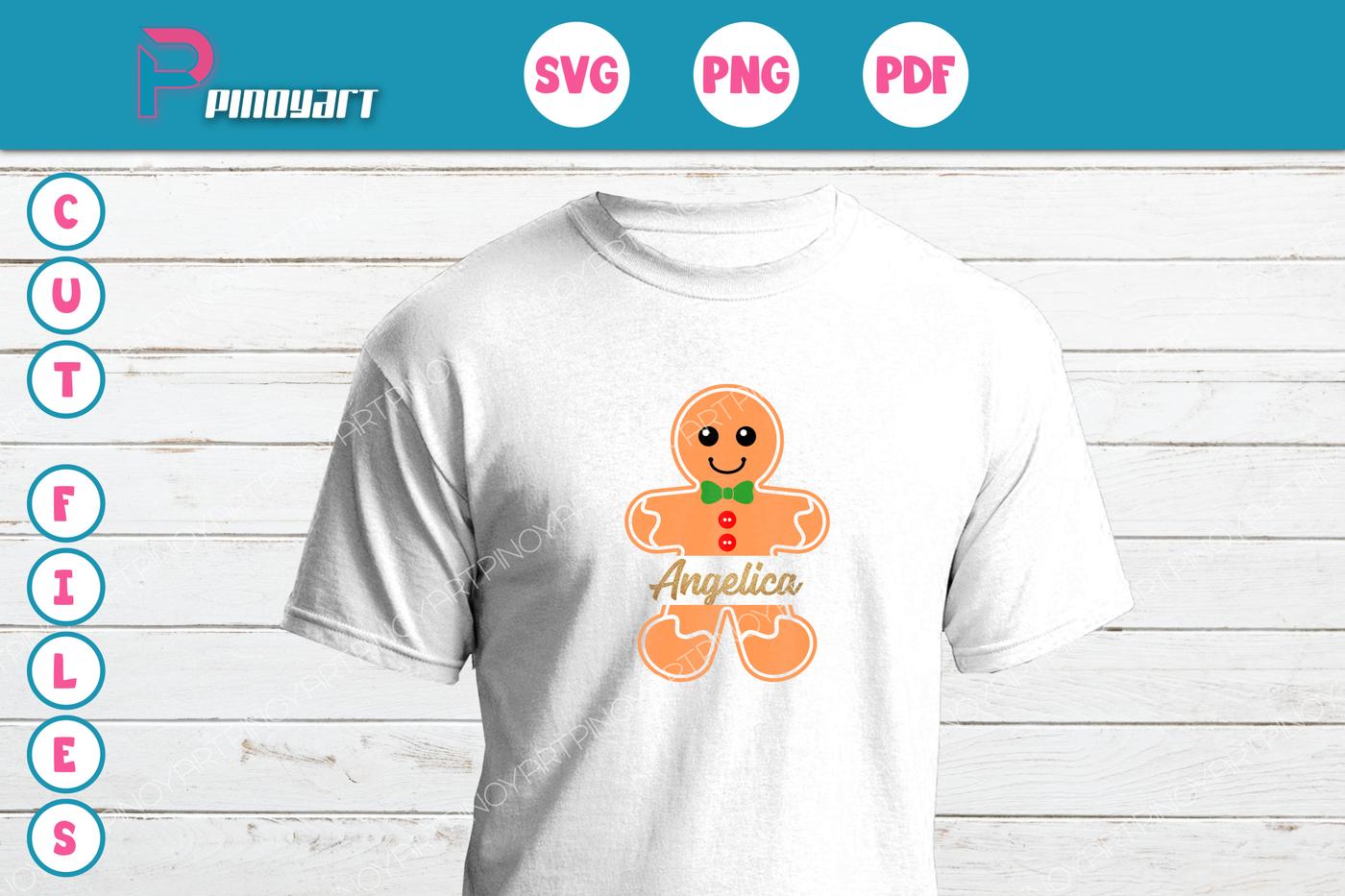 42+ Gingerbread Man Svg Dxf Design