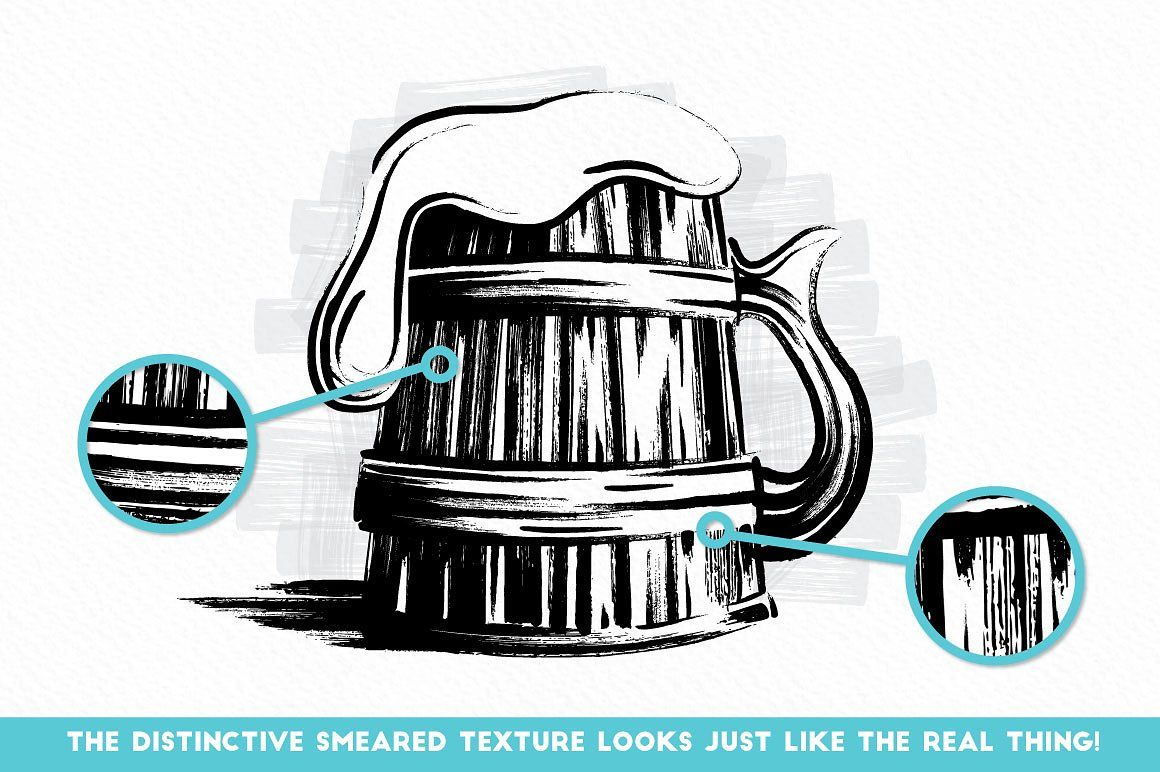 Chunky Markers - Illustrator Brushes By The Artifex Forge
