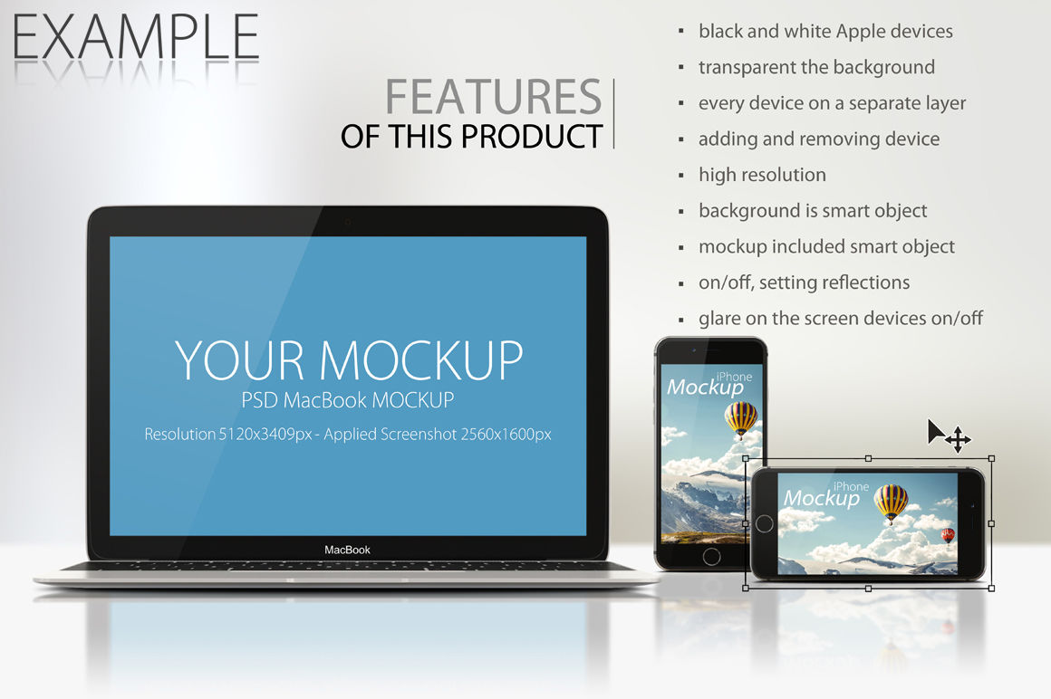 Desktop Mockup Psd Free Download
