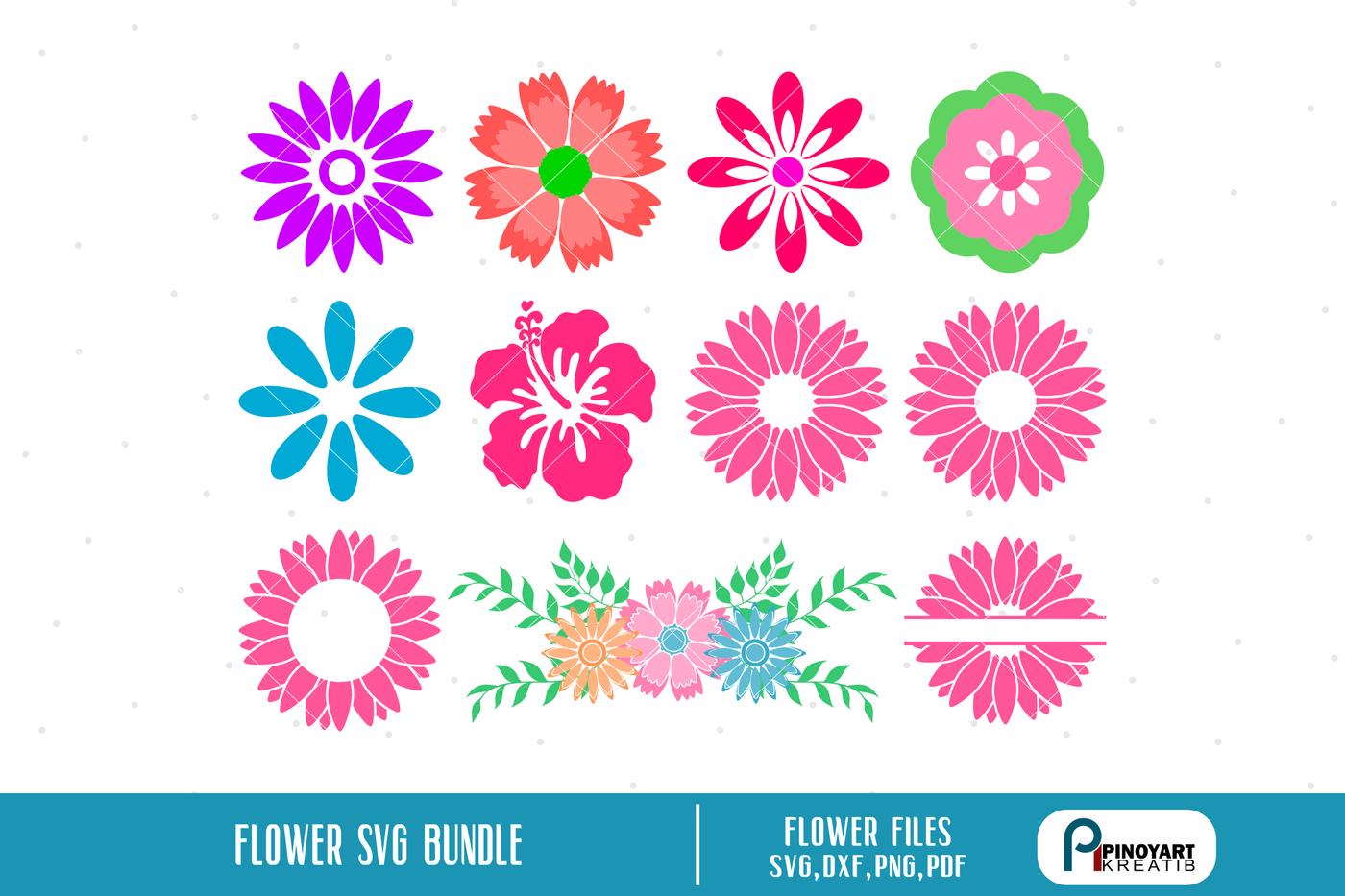 Flower Svg Flower Svg File Flower Svg Floral Svg Flower Floral Svg