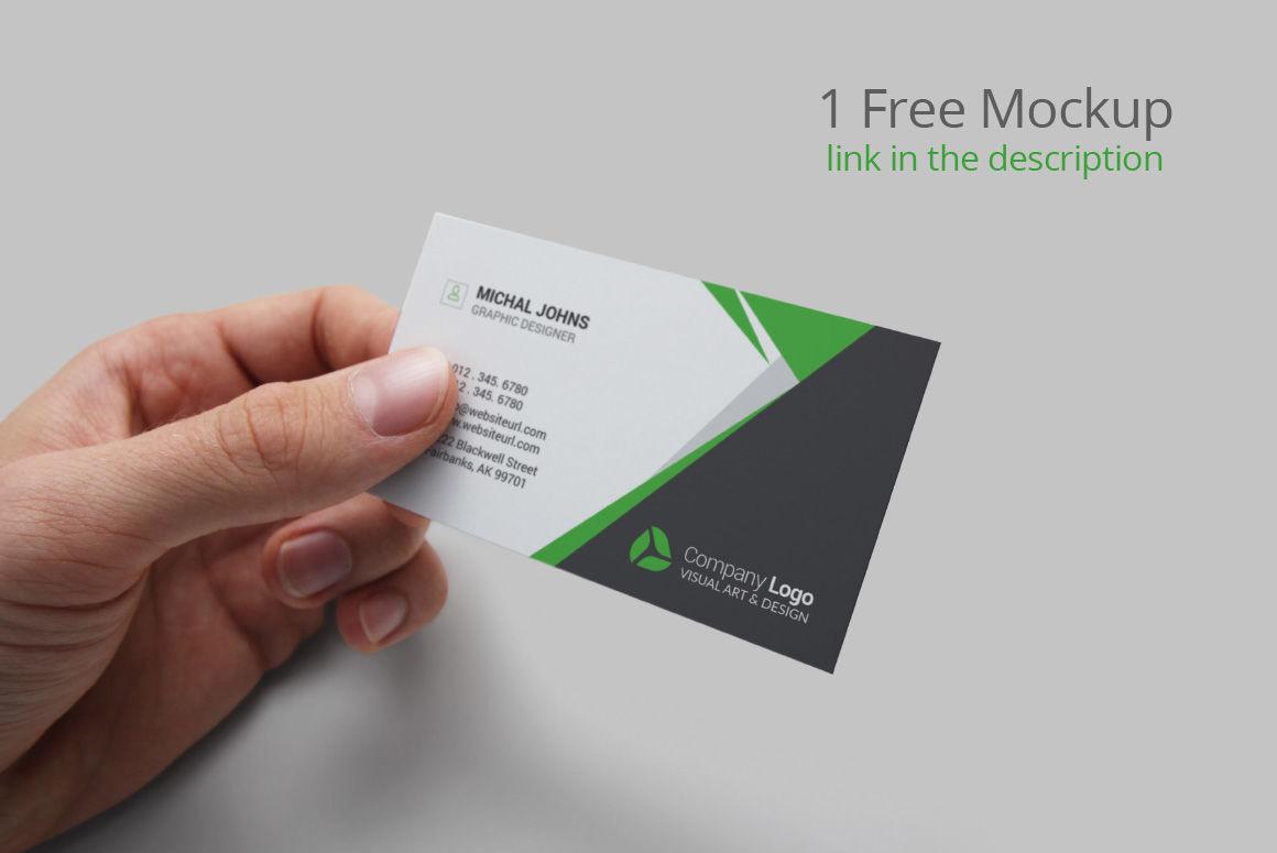 Card Mockup Psd Free
