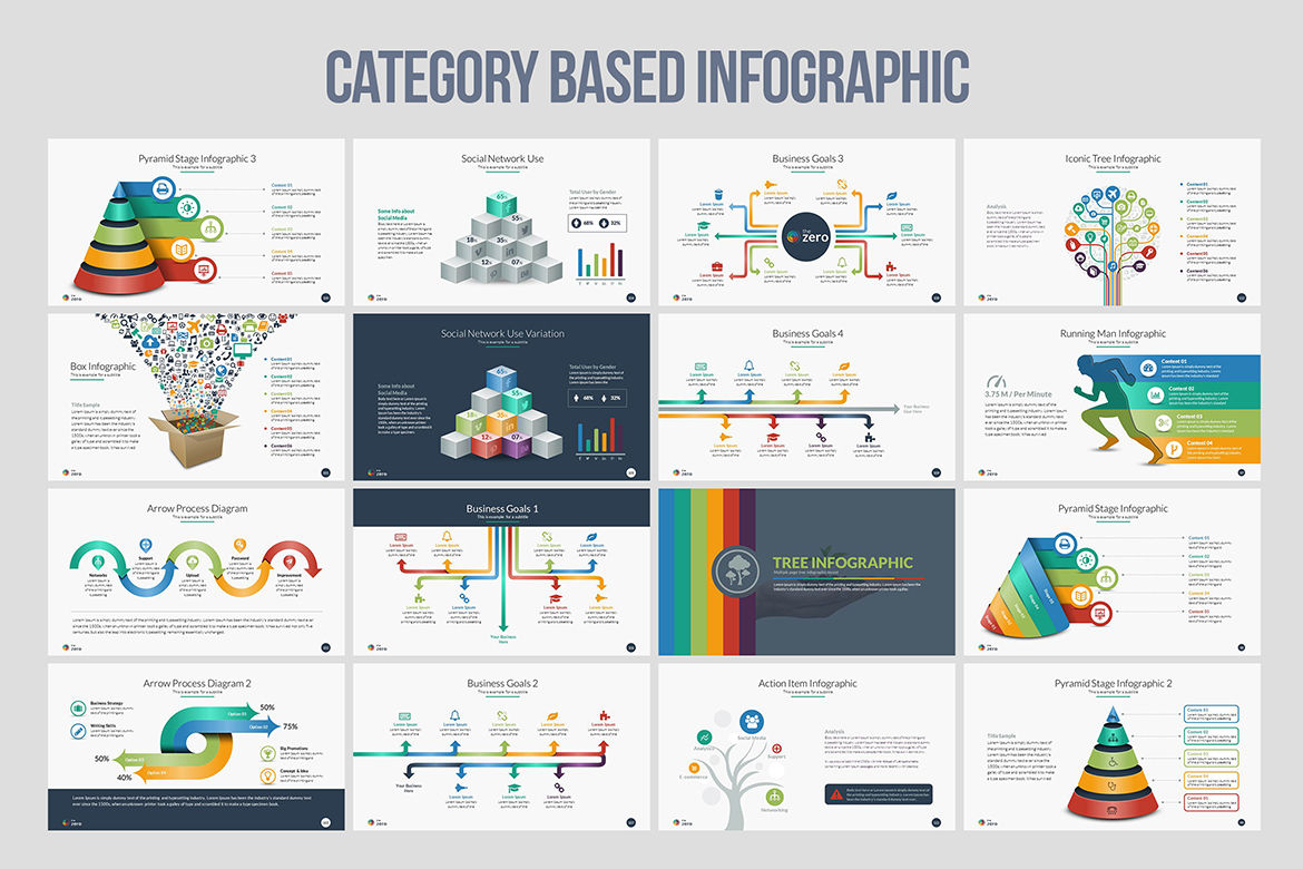 business infographic powerpoint presentation by