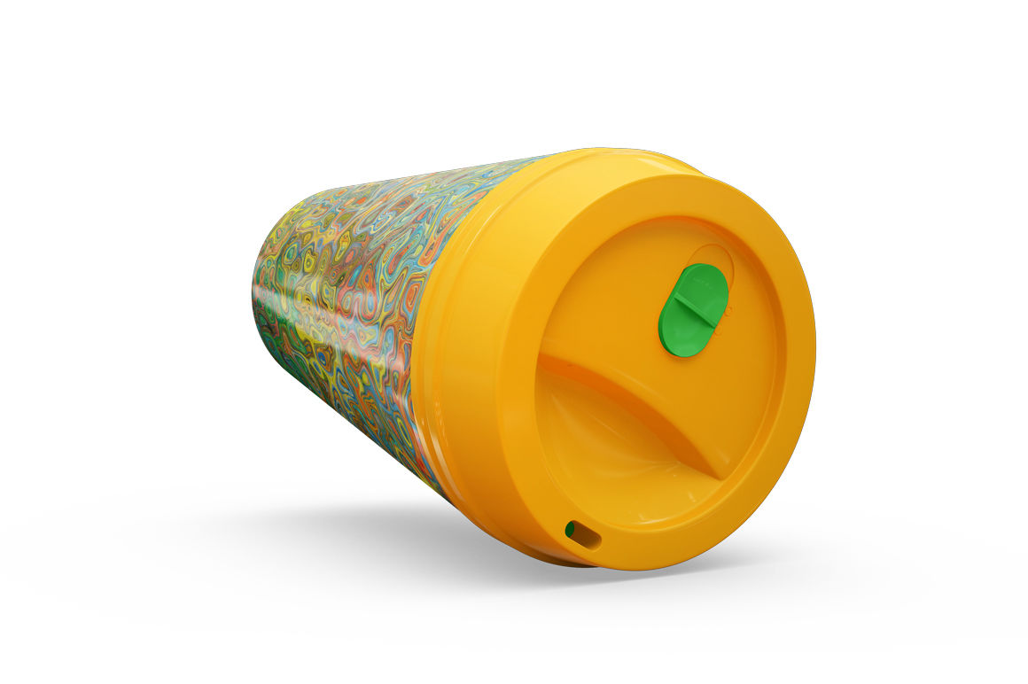 Download Long Paper Tube A Flat Lid High Angle View Yellowimages