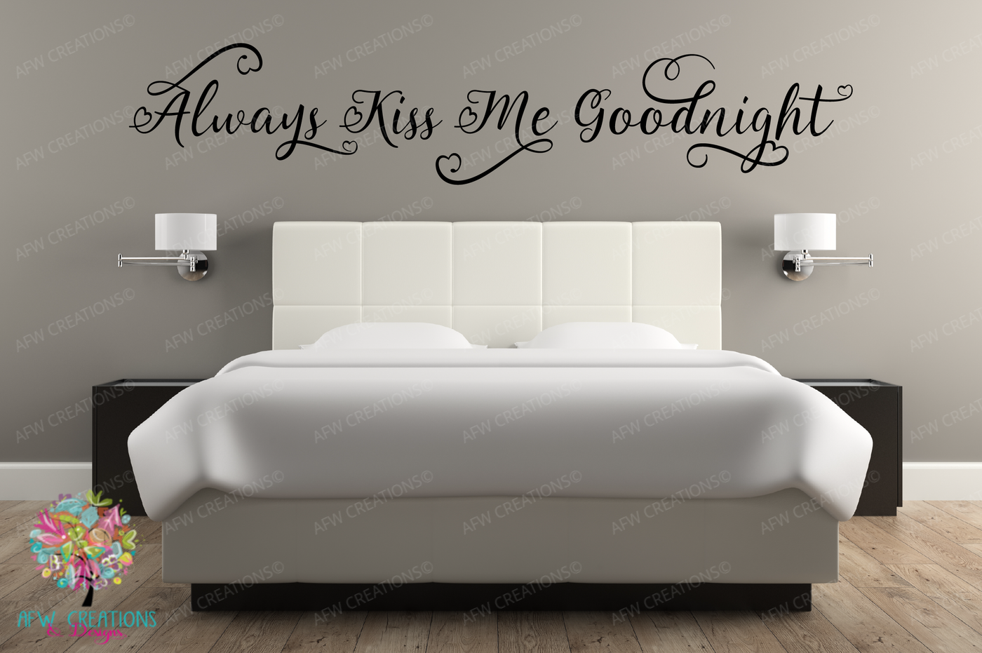 Always Kiss Me Goodnight Bundle Svg Dxf Eps Cut Files By Afw Designs Thehungryjpeg Com