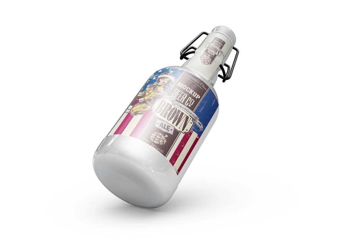 Drink Bottle Mockup