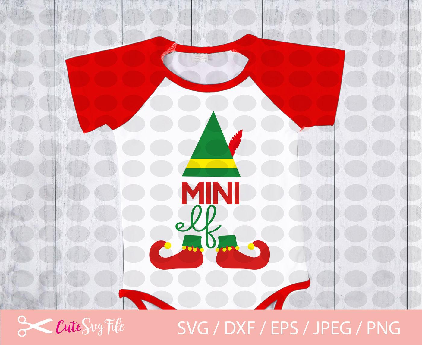 Elf Family Svg Papa And Mama Elf Mini Elf Mama Elf Baby Elf