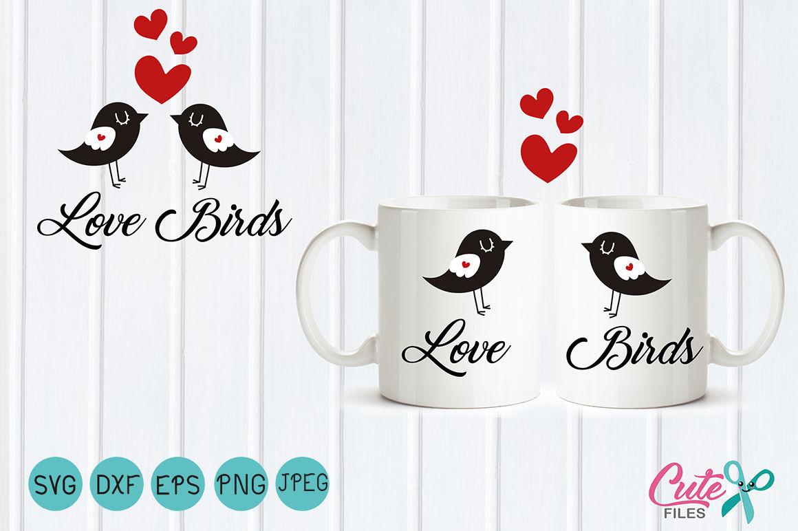 Bird Valentine SVG, bird SVG Vector, love Bird svg, Heart clipart