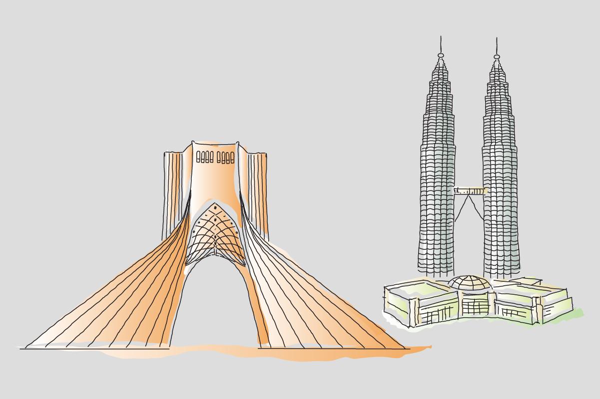 Landmarks-SVGs for Videoscribe By Jadugar Design Studio