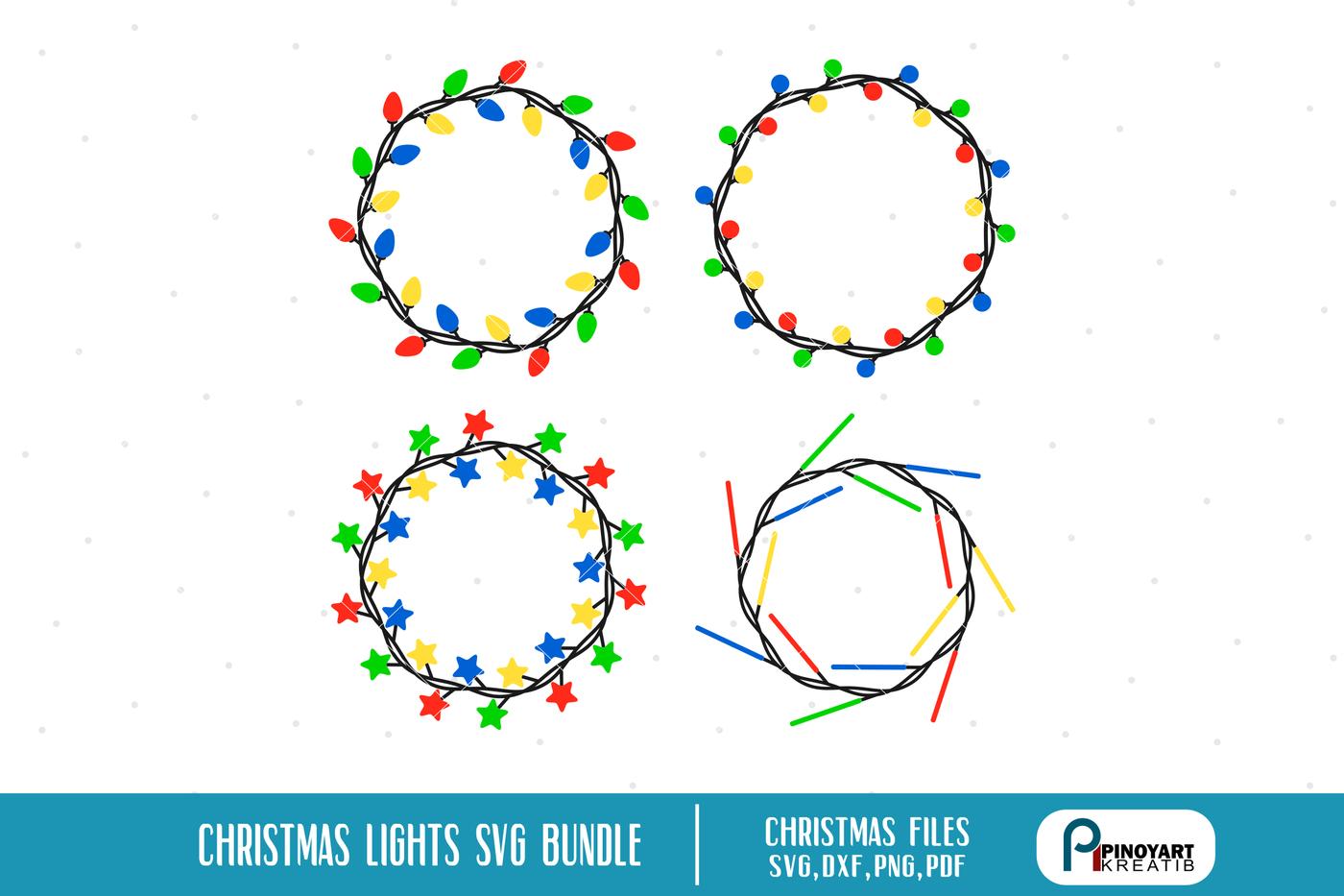 Christmas Svg Christmas Light Svg Christmas Svg Christmas Svg For