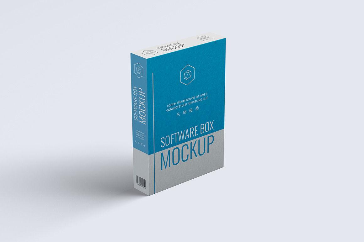 Download Software Box Mockup Psd Yellowimages
