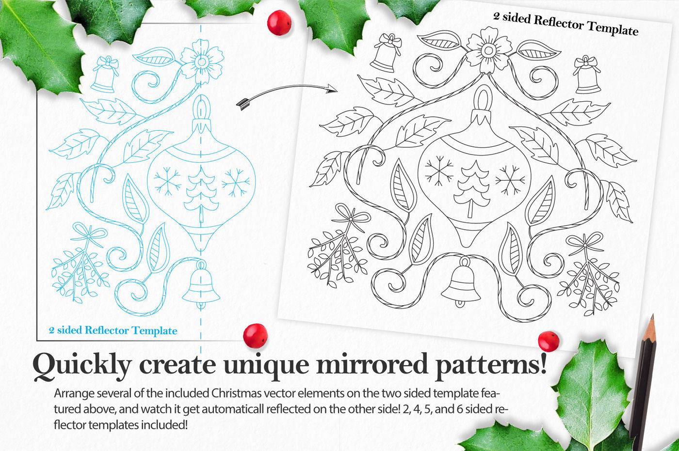 Coloringbook Mandala Creator: Christmas Edition for Adobe ...