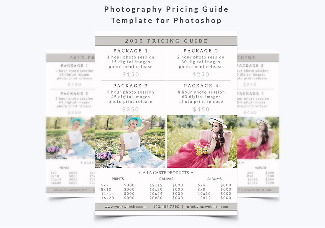 Photography Pricing Guide Template By NM-Design-Studio