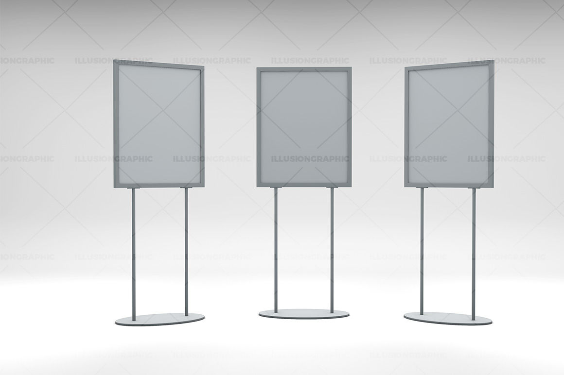 Display Stand Mockup Psd