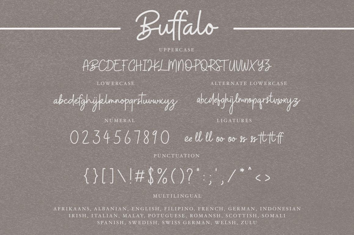Buffalo Font By Angga Mahardika Thehungryjpeg Com
