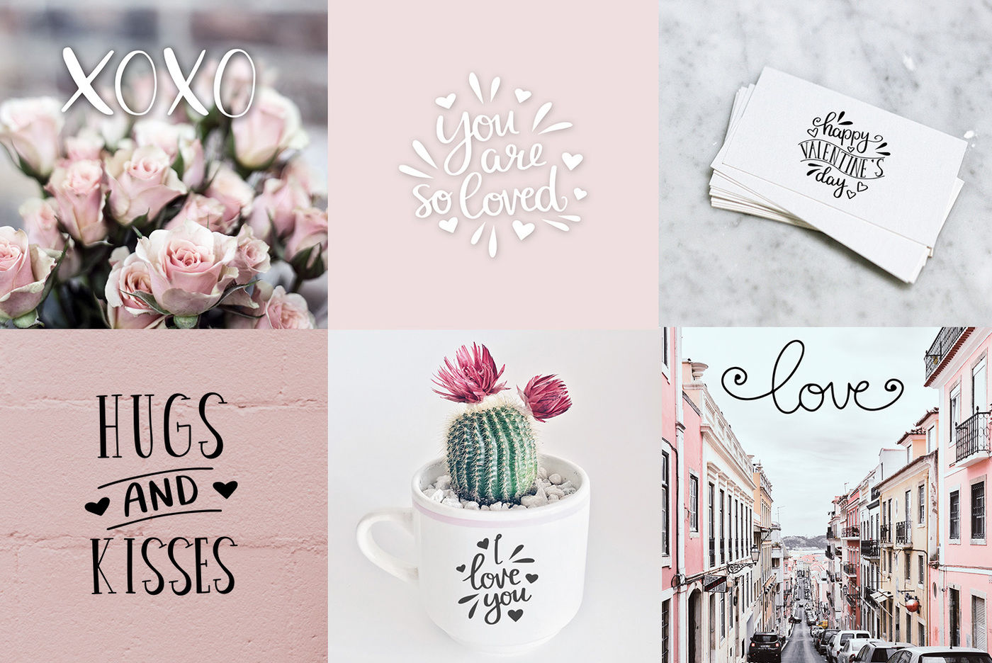 Valentine S Love Quotes Svg Bundle By Mileekae Thehungryjpeg Com