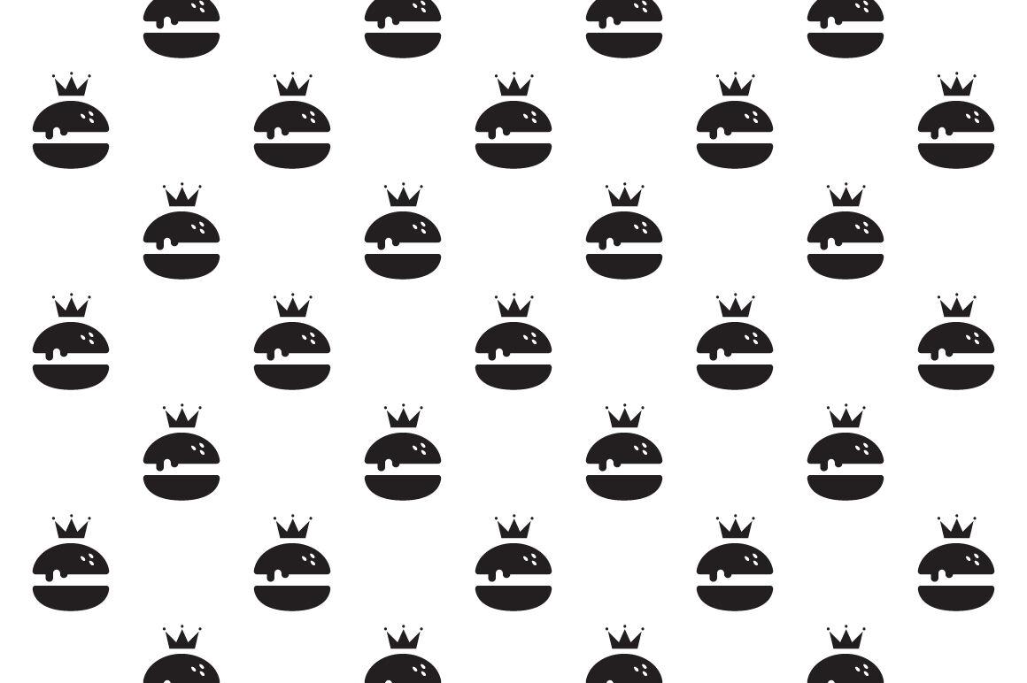 Royal Burger Logo Design By Nadezda Gudeleva Thehungryjpeg Com
