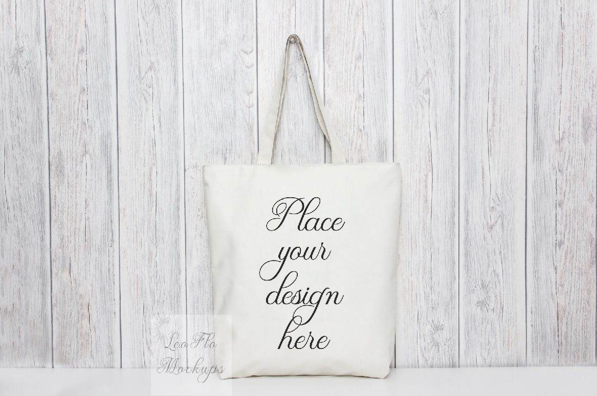 Tote Bag Mockup Rustic Mock Up Psd Smart Totes Template Mockups By