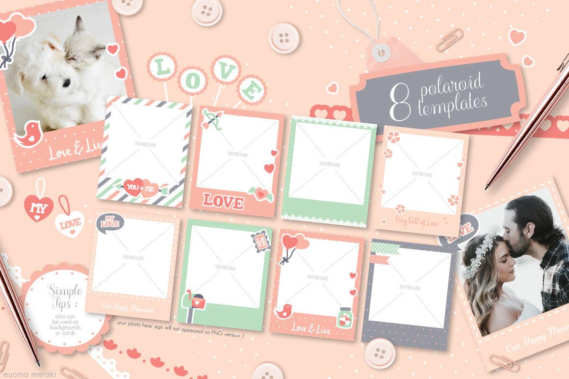A Cute Love Valentine Decoration Kit By Euonia Meraki