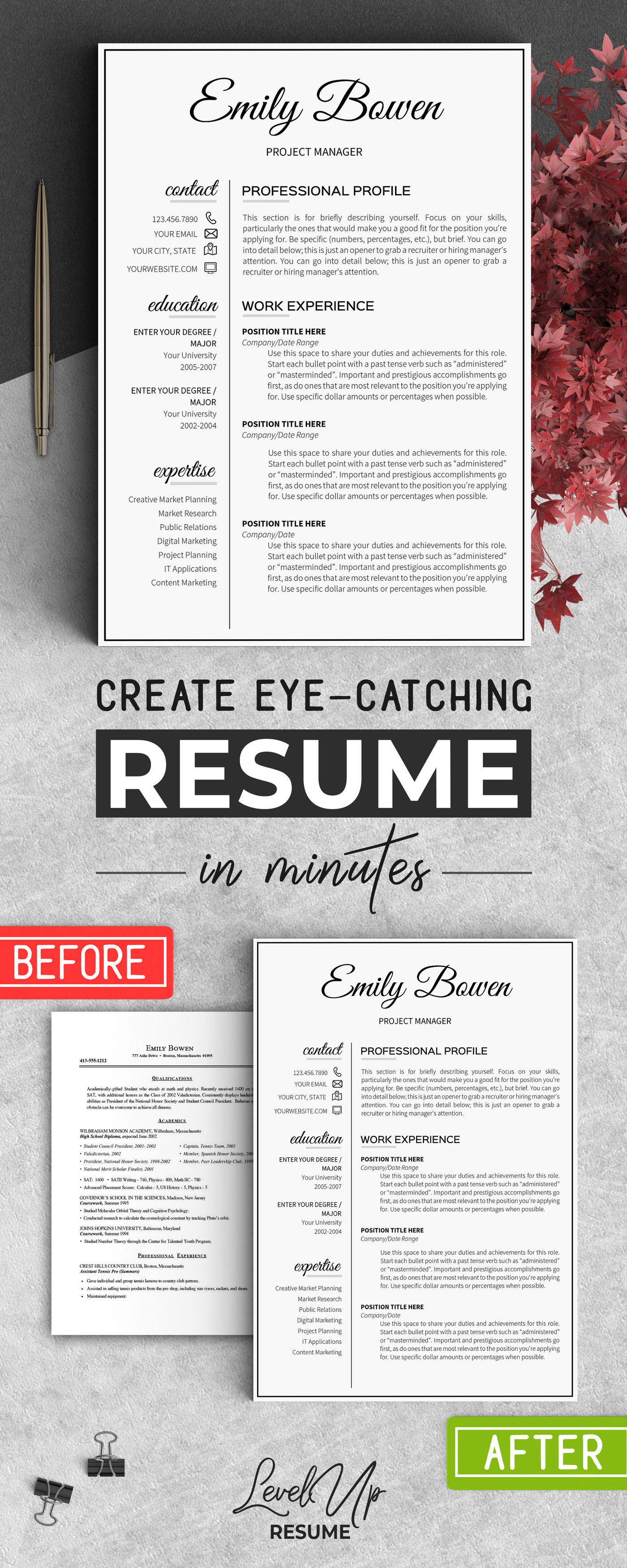 2 page resume template job resume word template resume