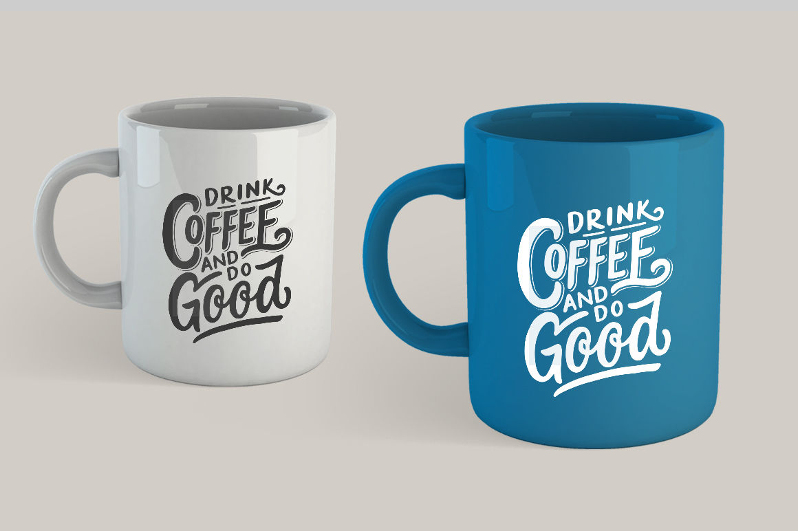 Svg Bundle Set Of Hand Lettering Coffee Quotes By Weape Design