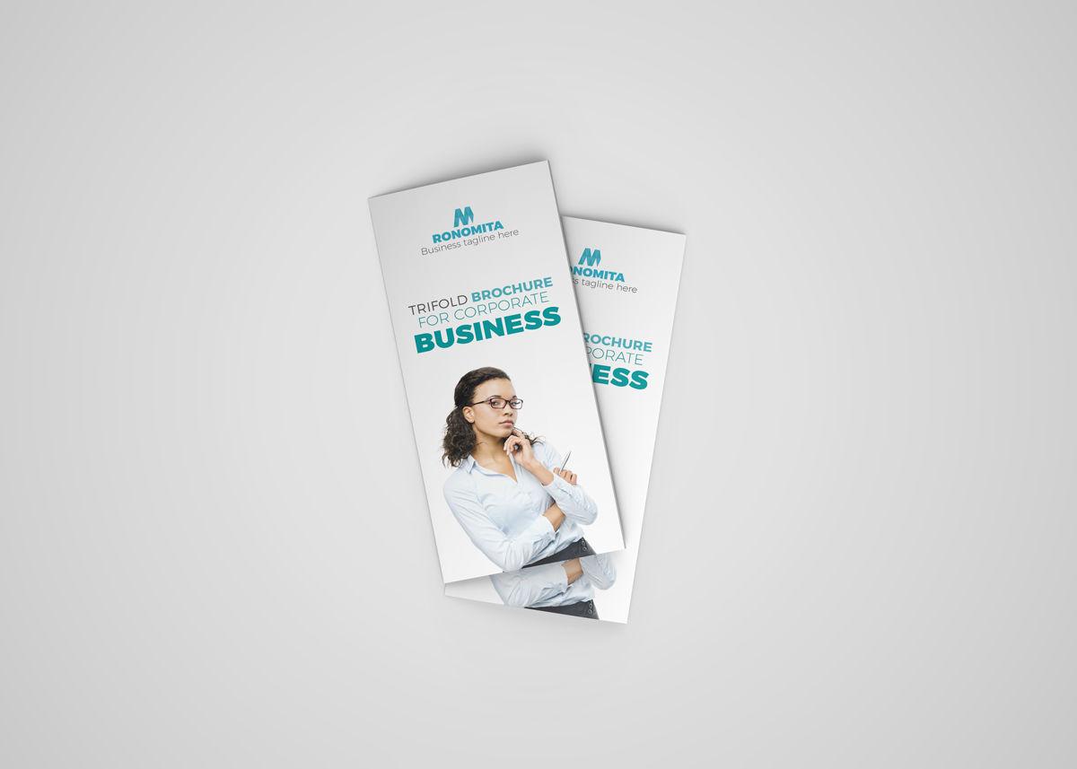 Trifold Brochure InDesign Template By Hemonto kumer Mozumder