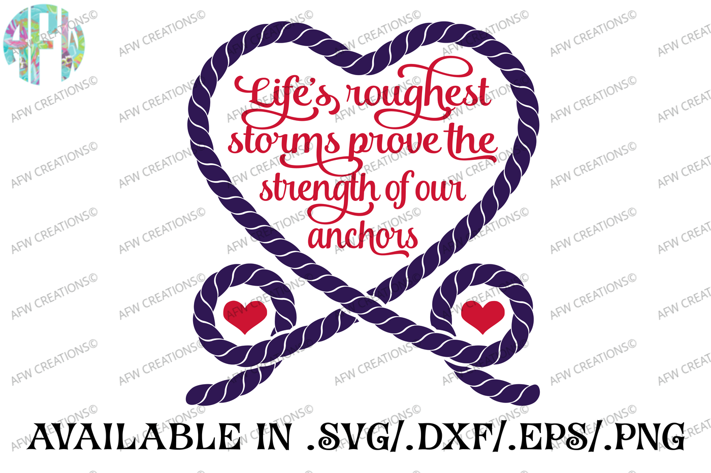Life S Roughest Storms Svg Dxf Eps Cut File By Afw Designs Thehungryjpeg Com