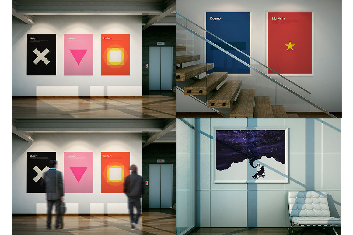 Download Gallery Mockup Psd Free Yellowimages