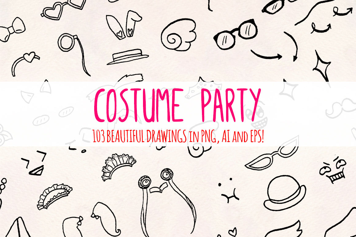 Costumes 100 Fancy Dress Up Illustrations Vector Graphics