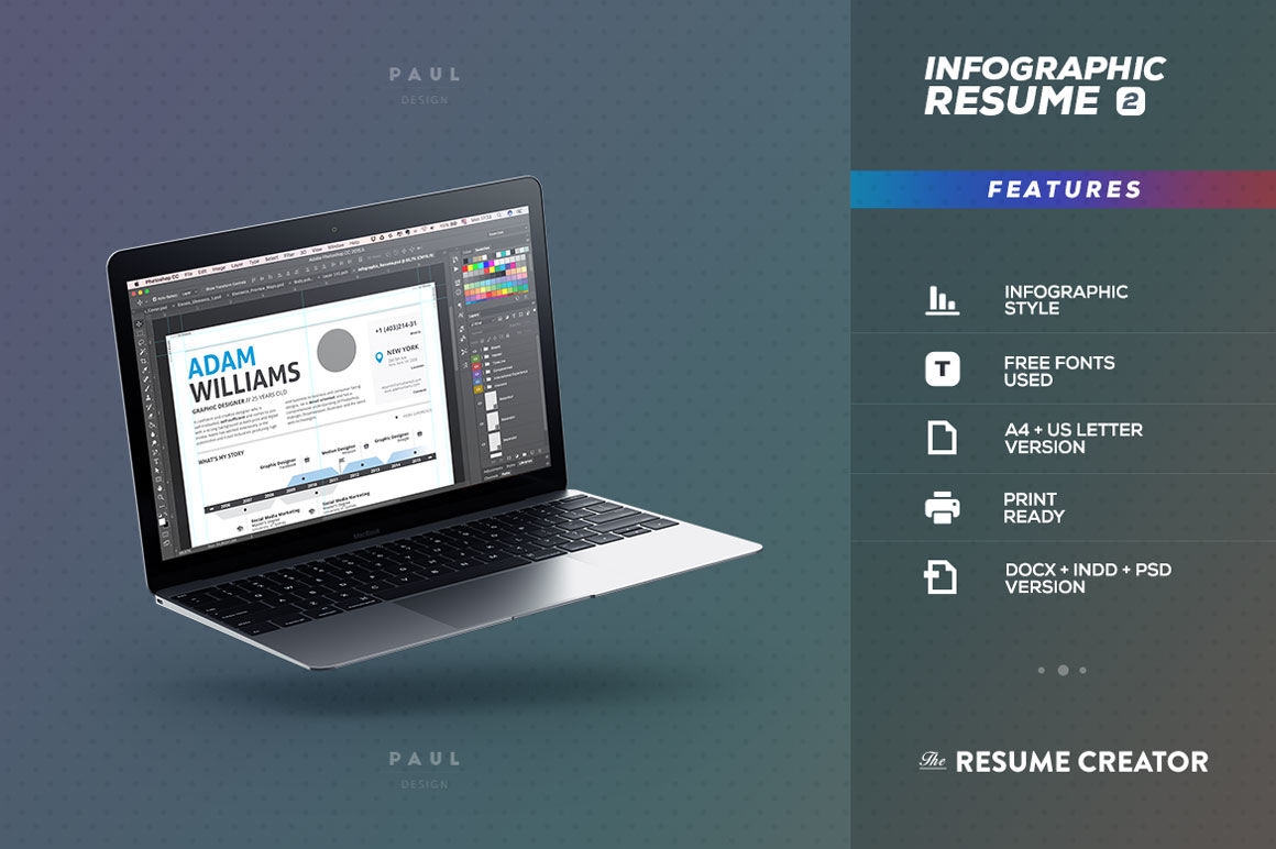 infographic resume vol 2