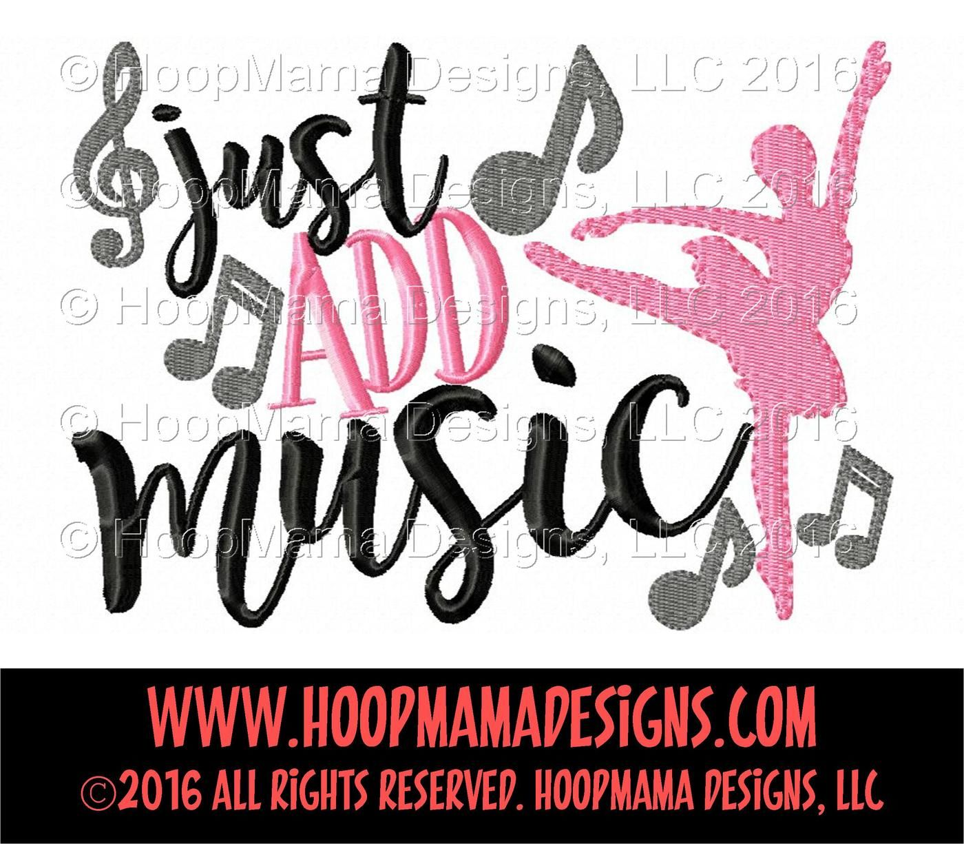 Just Add Music By Hoopmama Designs Thehungryjpeg Com