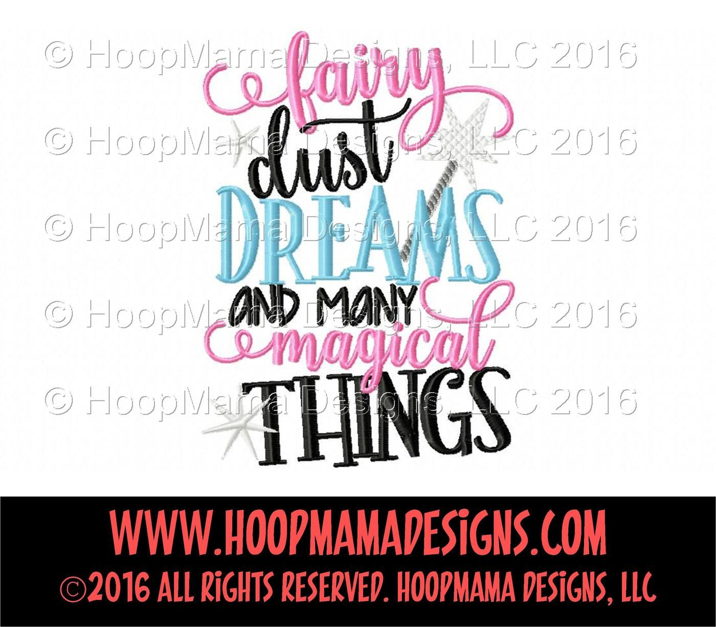 Fairy Dust Dreams And Magical Things By Hoopmama Designs Thehungryjpeg Com