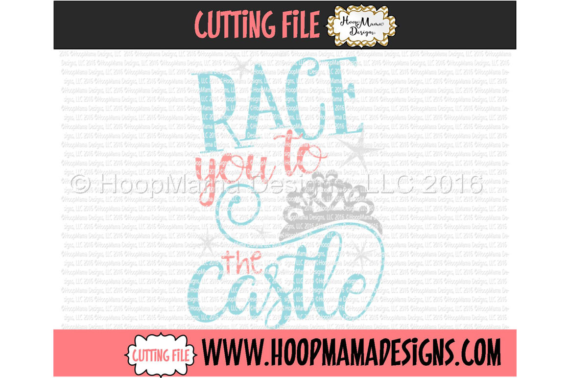 Race You To The Castle By Hoopmama Designs Thehungryjpeg Com