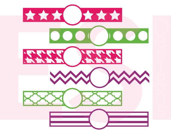 100 Circle Monogram Frame Bundle Svg Png Dxf Eps Cutting Files By Esi Designs Thehungryjpeg Com