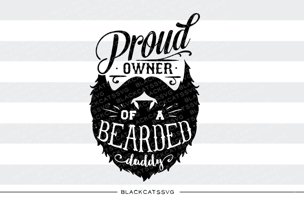 Bearded Dad Svg