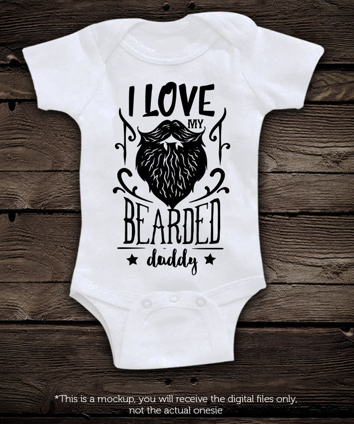 I Love My Bearded Daddy Svg By Blackcatssvg Thehungryjpeg Com