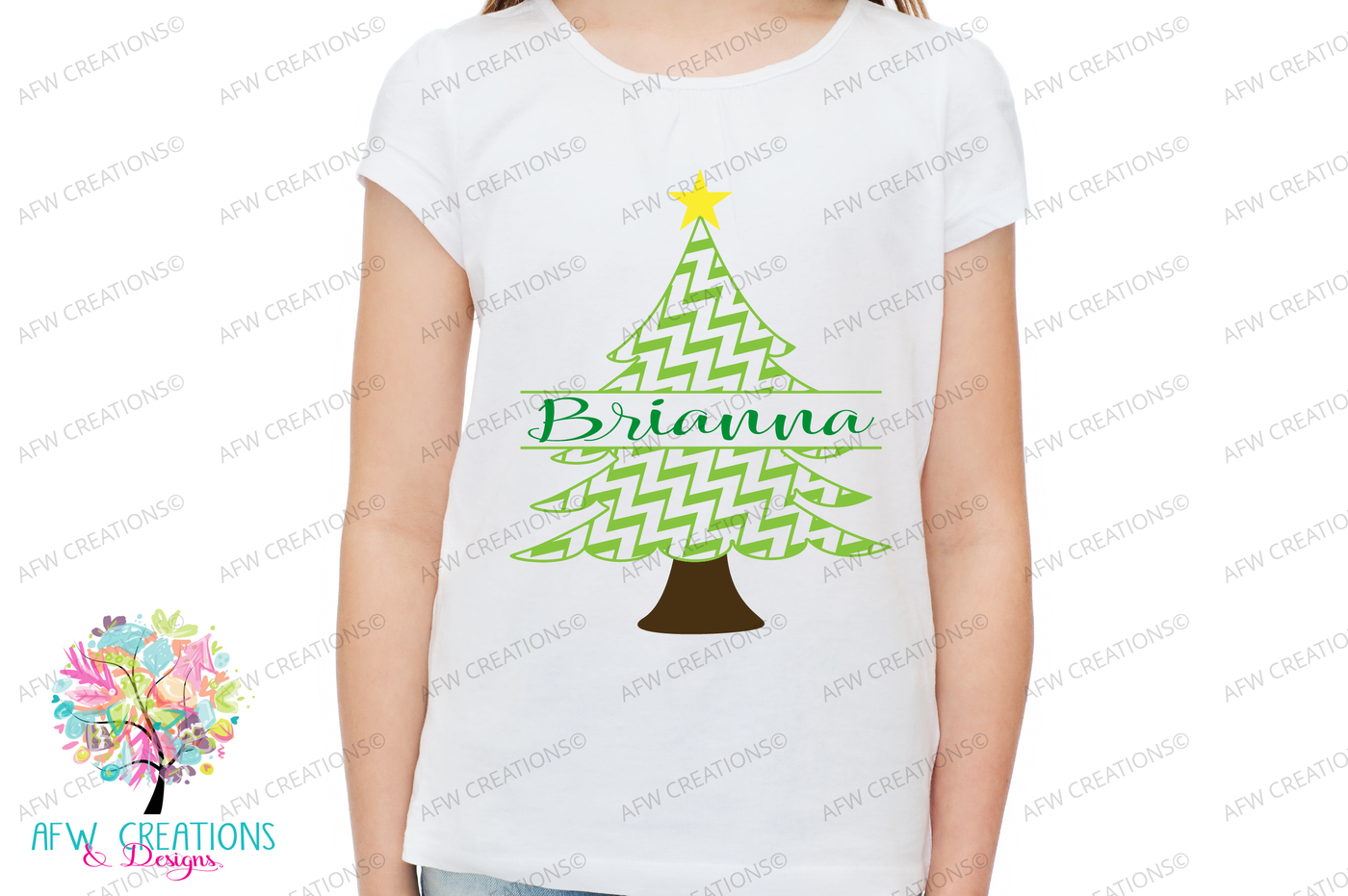 Split Pattern Christmas Trees Svg Dxf Eps Cit Files By Afw Designs Thehungryjpeg Com